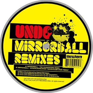 FC 004 - FACTOR CITY Records - UNDO - Mirrorball (Remixes)